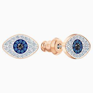 Swarovski Symbolic pierced earrings, blue
